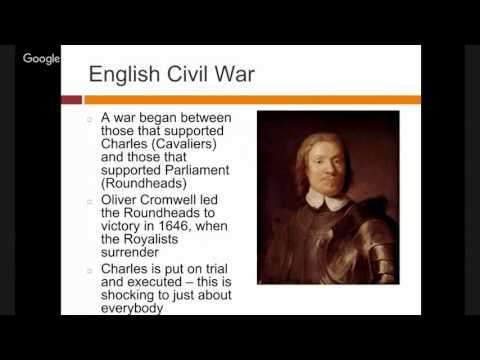 English Civil War Lecture