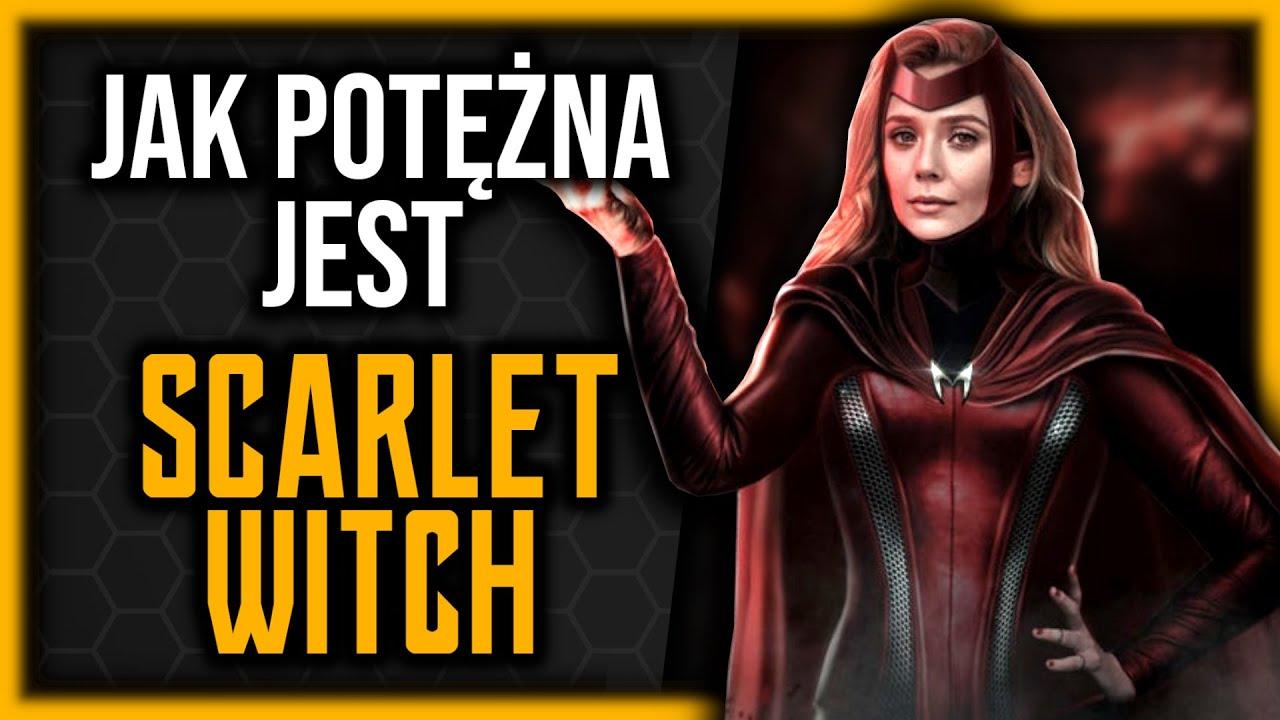 WSZYSTKIE moce Scarlet Witch?! - PRAWDZIWA HISTORIA Wandy Maximoff [Radioaktywny One-Shot]