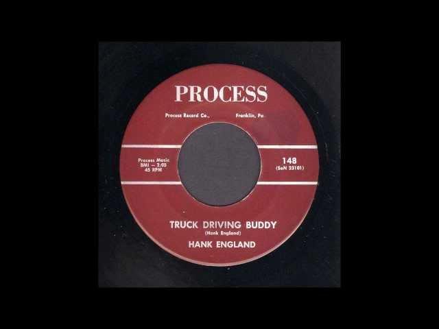 Hank England - Truck Driving Buddy - Rockabilly 45