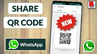 How to Share and Scan WhatsApp QR Codes (New Update) screenshot 2