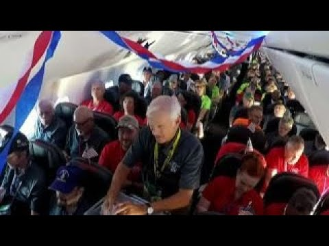 Vietnam veterans receive honor flight to D.C.