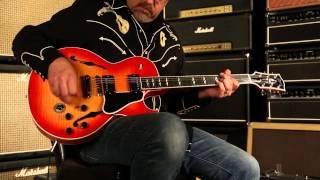 SOLD •Gibson Memphis ES-137 Custom  •  SN: 12951718