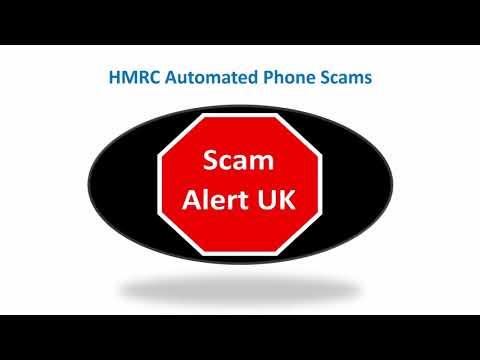 HMRC automated phone scam calls