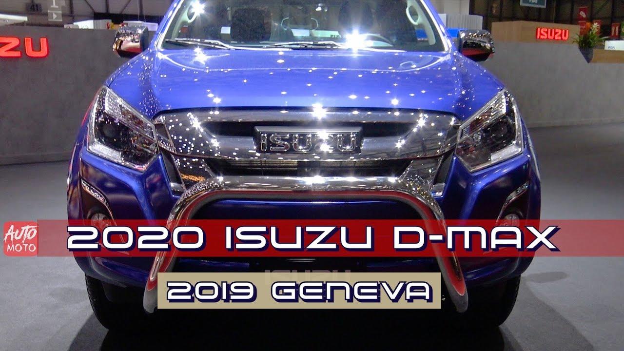 2020 Isuzu D-Max Concept, Interior, Design, And Release Date >> 2020 Isuzu D Max Exterior And Interior Walkaround 2019 Geneva Motor Show