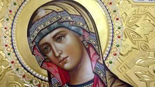 Икона Богородица для Царских Врат Обзор Готовой Иконы в Иконостас Сумская Икона