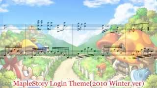 MapleStory Login Theme (2010 Winter.ver)