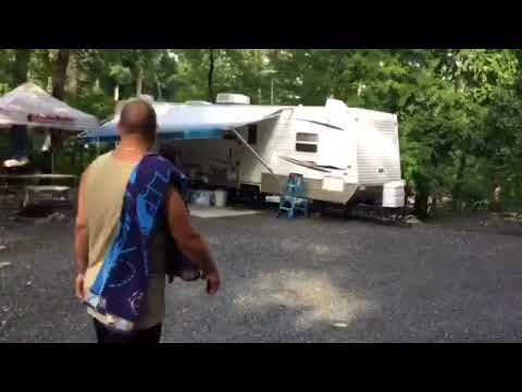 Continuation Of Walk Around Yogi Bear Campground Quarryville Pa Part 2