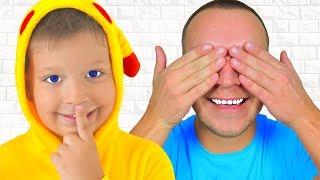 Макс и песенка Про Игру в Прятки Ку-Ку! Песни для детей #2