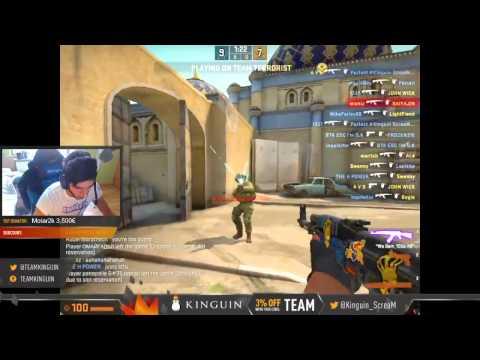 CS:GO Pro Deathmatch ScreaM HSMOD