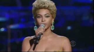Beyonce singing the Etta James Classic 39 At Last