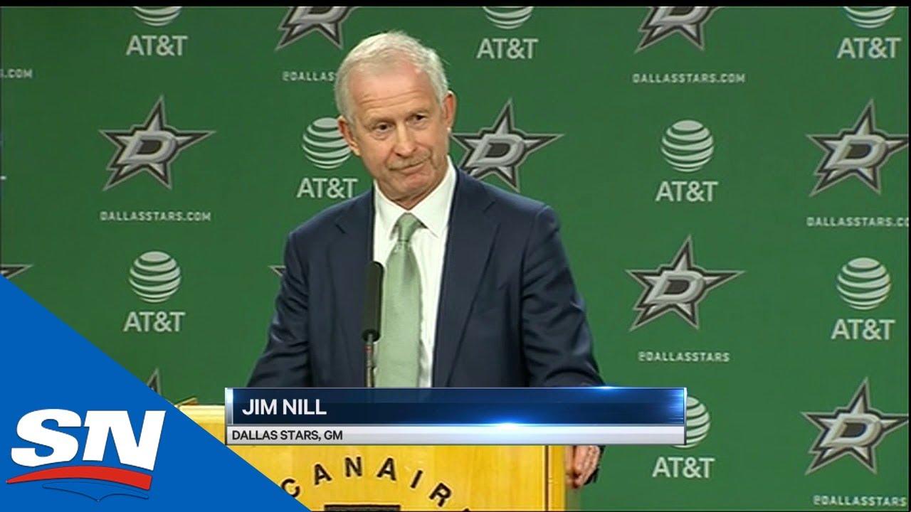 Dallas Stars fire coach Jim Montgomery 'due to unprofessional ...