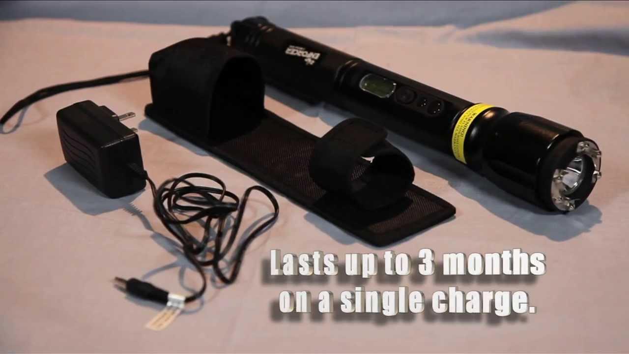 Zap Enforcer 2 Million Volt Stun Gun Flashlight Youtube