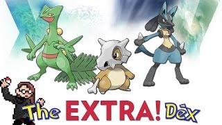 Sceptile, Cubone, Lucario! The ExtraDex #14