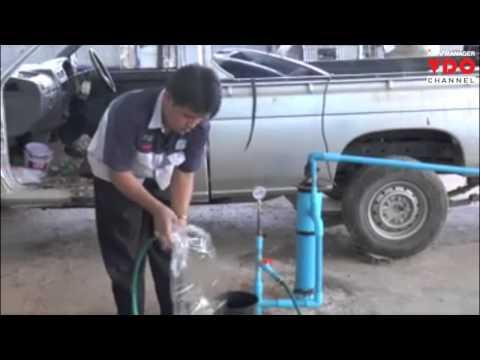 ตะลึง! เถ้าแก่อู่ซ่อมรถเจาะบาดาลสู้แล้งลึก 70 ม.ไม่เจอน้ำกลับพบแก๊สพุ่งขึ้นมาแทน