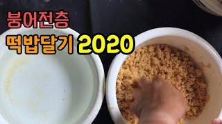 [붕어전층] 떡밥달기 2020