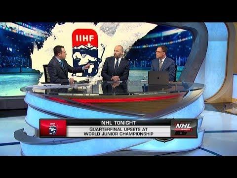 NHL Tonight: World Juniors Chat: USA Beats Czech Republic, Finland Tops Canada In WJC  Jan 3,  2019