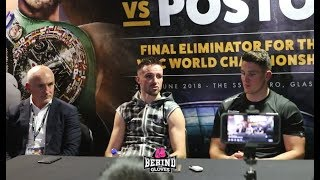 JOSH TAYLOR BEATS VIKTOR POSTOL [FULL POST FIGHT PRESS CONFERENCE]