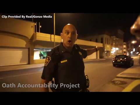 Cop Freaks Out About Taking Pictures Of License Plates | OAP