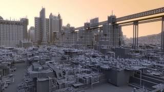 MCVersus Vista (Houdini-Clarisse-Terragen) - Procedural modeling