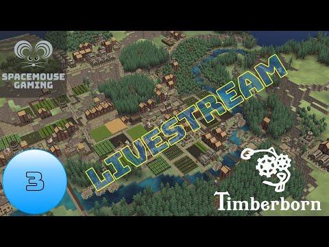 Timberborn Closed Beta EP3 Livestream (eager beaver)