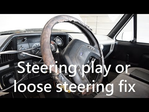 Fix Steering Play On Old Ford Trucks (Cheap And Easy!)