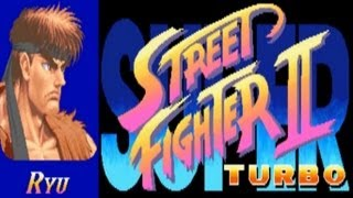 Super Street Fighter II Turbo - Ryu (Arcade)
