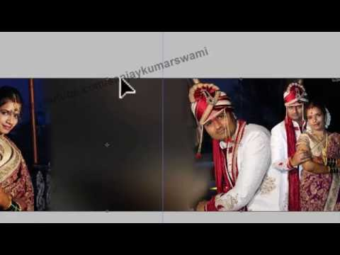 Wedding DM Design without cutting and template using (Hindi) 06