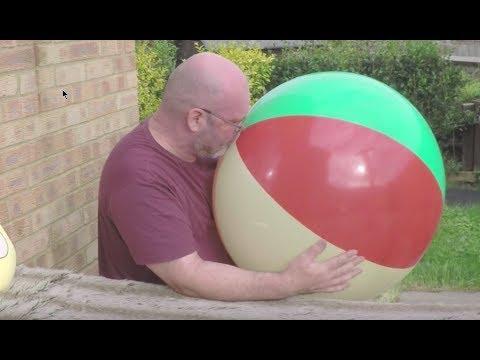 #26 Beach Ball POP & Bonus Blow to Pop Tangobaldy Balloon Challenge