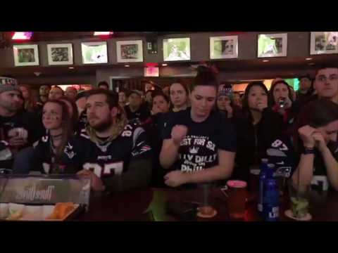 Patriots Super Bowl loss: Watch Pats fans watch the final play at The Greatest Bar in Boston