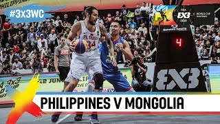 Philippines vs Mongolia | Highlights | FIBA 3x3 World Cup 2018