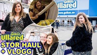 STOR ULLARED-HAUL + VLOGG | Blir intervjuad när jag shoppar
