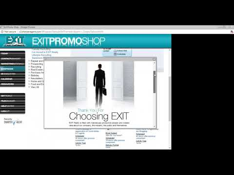 Social Media Campaigns with  EXIT PromoShop
