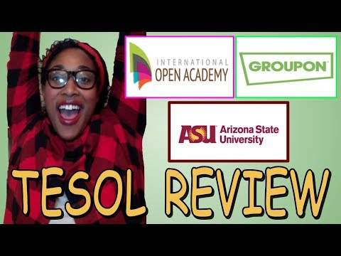 Free Cheap TESOL Course Review