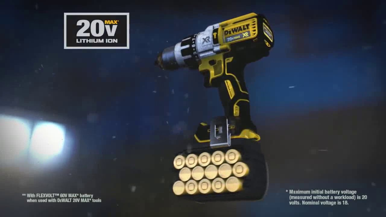 DEWALT FLEXVOLT 20V/60V MAX Batteries