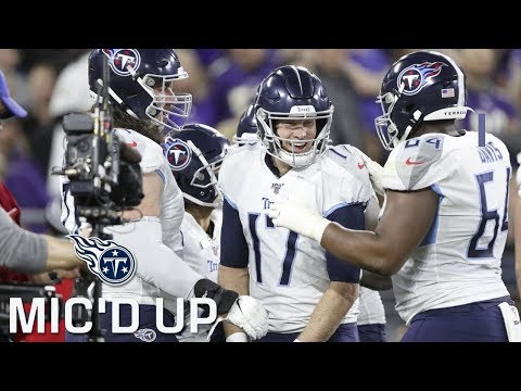 Titans Mic'd Up vs. Ravens (AFC Divisional Round) | Sounds of the Game
