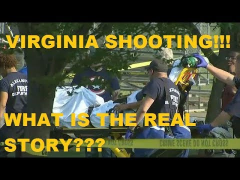 VIRGINIA SHOOTING, STEVE SCALISE,BRAD WENSTRUP  #PEDOGATE HUMAN TRAFFICKING