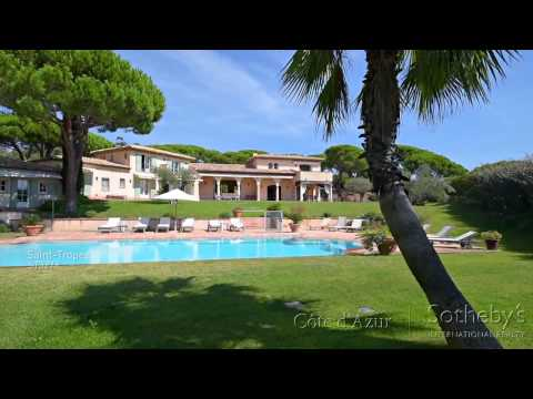 Magnifique villa néo-provençale à Saint Tropez