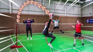 EPISCHE FUßBALL TENNIS CHALLENGE !