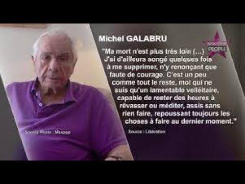 """""""123 JE NE JOUE PLUS !"""" TOMBE DE MICHEL GALABRU CIMETIERE MONTMARTRE PARIS."""