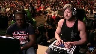 ♛ CEO 2016 - Street Fighter V - Kenny Omega vs Xavier Woods HD 720p 60FPS