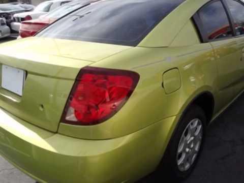 2004 Saturn Ion Ion 2 Quad Cpe Auto Coupe Las Vegas Nv