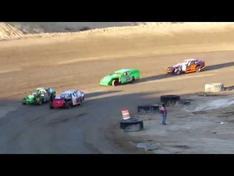 Desert Thunder Raceway 305 Modified Heat Race 4/14/18