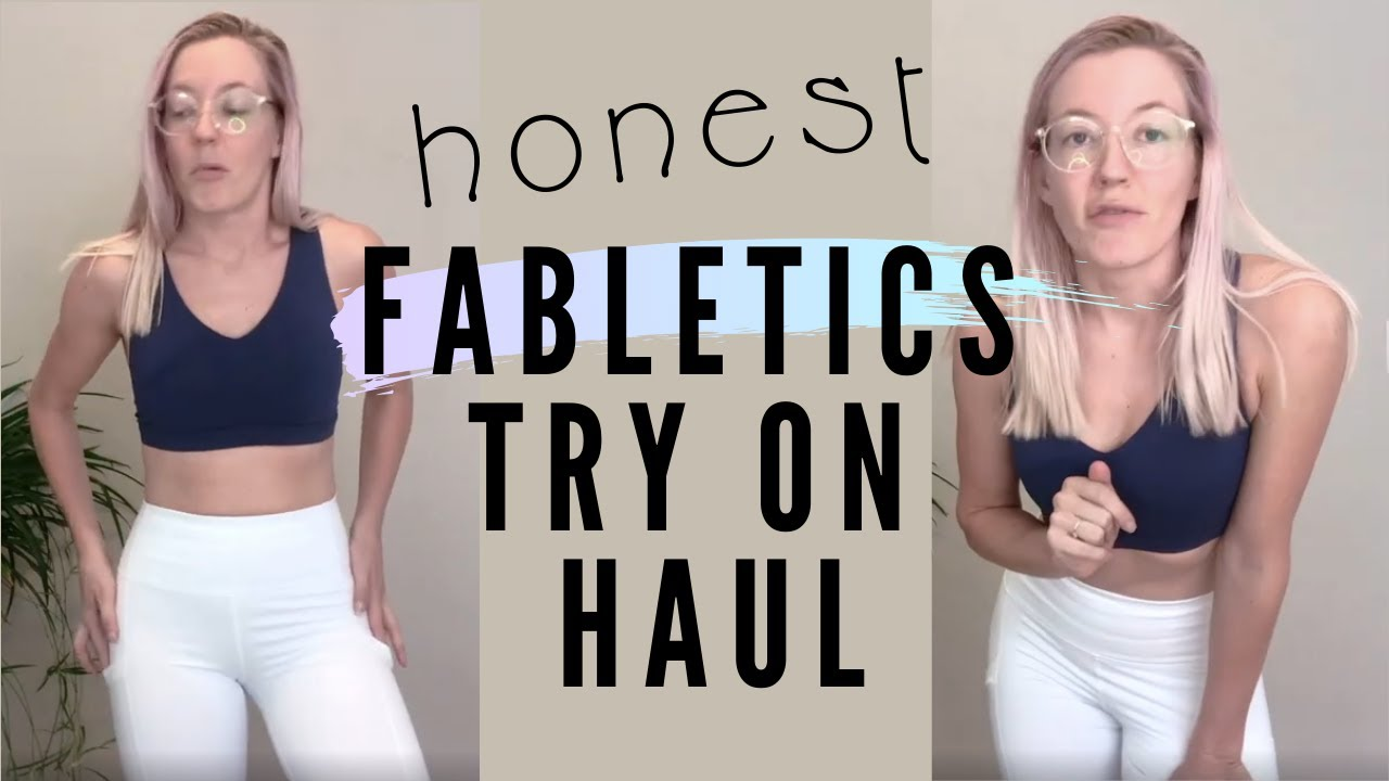 [VIDEO] - Honest Fabletics Try on Haul 2019 | 2 for $24? Squat-Proof? 1