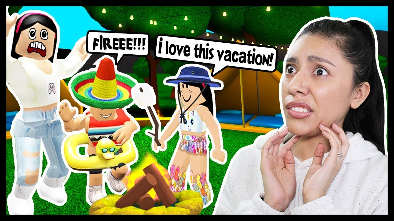 I Took My Kids On Our First Family Vacation Roblox Roleplay