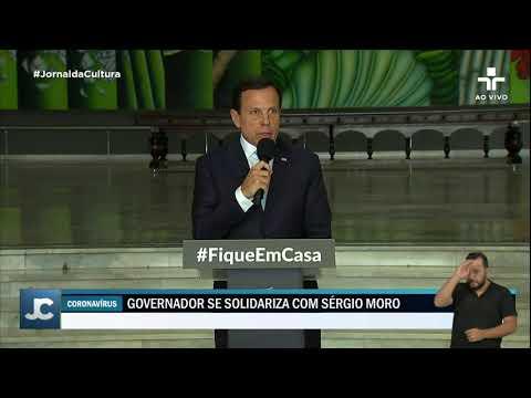 Governador De São Paulo, João Doria, Reage à Demissão De Sergio Moro