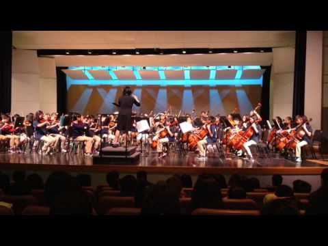 Suzanne middle school 6th grade orchestra performance
