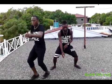 Masicka- cya frigthen we by black dice dancers