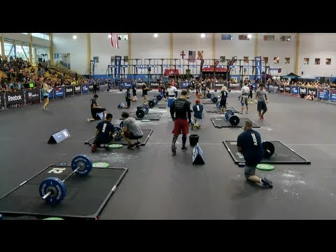 CrossFit - Mid Atlantic Regional Footage: Men's Events 2 and 3