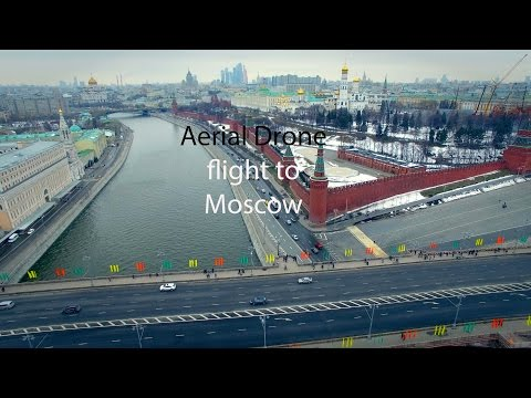 View on Moscow Kremlin and the embankment of the Moscow river