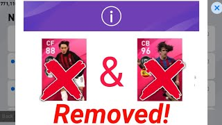 Iconic Puyol & Inzaghi Removed From Pes! Efootball Pes 2020 Mobile | Team Infinity |